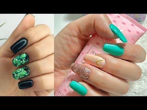How To Polish Nails At Home Simple Nail Art Tutorial 6