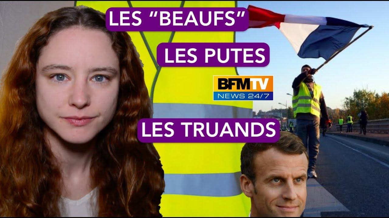 GILETS JAUNES - LA FRANCE D'EN BAS CONTRE CEUX D'EN HAUT