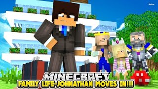 FAMILY LIFE ||  EVIL JOHNATHAN MOVES INTO THE PALACE!!!- Baby Leah Minecraft Roleplay!