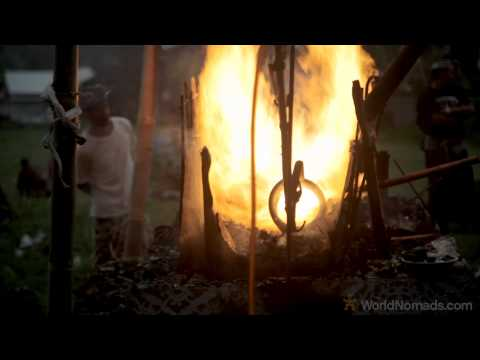 Travel Indonesia - Bali Cremation Ceremony