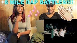 "Couple Reacts : ""8 Mile - Ending Rap Battles"" Reaction!!!"