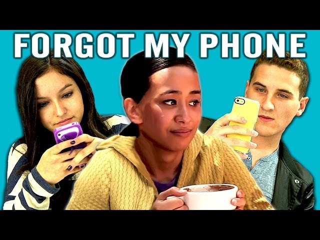 TEENS REACT TO SMARTPHONES Travel Video