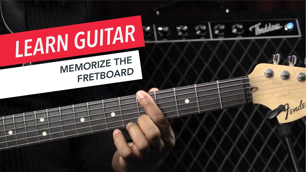 Beginner Guitar Lessons: How to Memorize the Notes on the ...