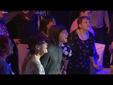 The opera group who've all been touched by homelessness | ITV News