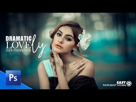 Adobe Photoshop Tutorial -  Moody Dramatic Tone Effect thumbnail