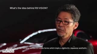 Mazda RX Vision presentado en Tokio