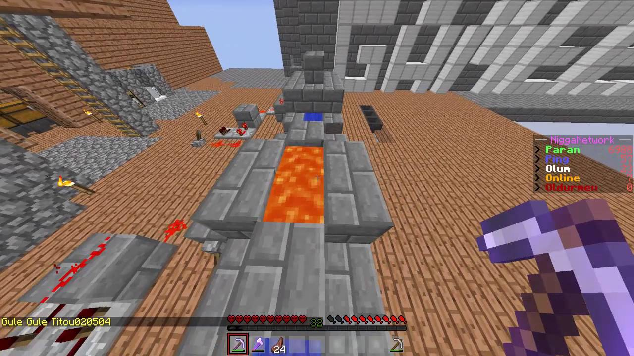 Minecraft Skyblock Serveri Trollüyoruz :) YouTube