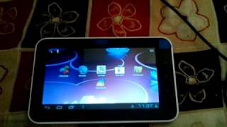 How to connect external hard drive to Android tablet
