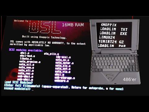 Mit LOADLIN das Linux Kernel von DOS aus starten