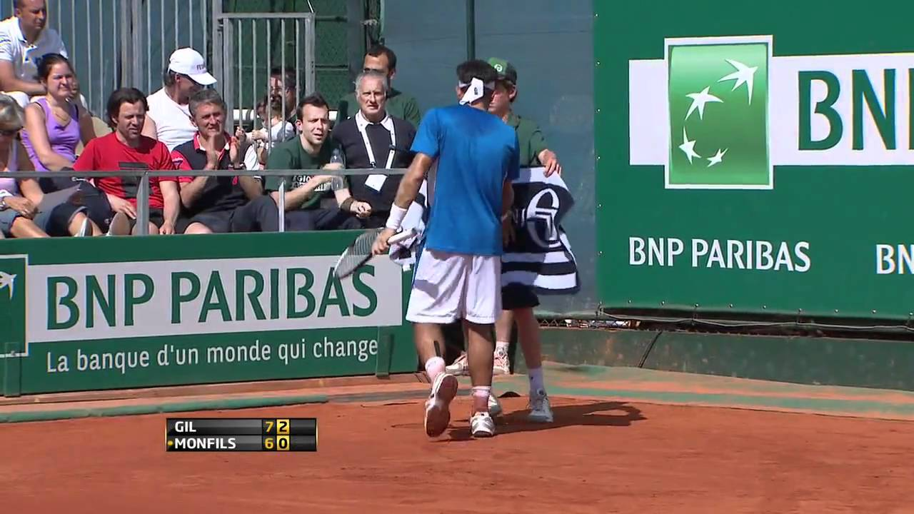 Frederico Gil def. Gael Monfils - Monte Carlo 2011 Masters 1000 Highlights