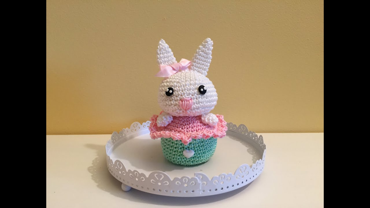 Tutorial Amigurumi Annarellagioielli : Coniglietto cake amigurumi tutorial schema how to crochet