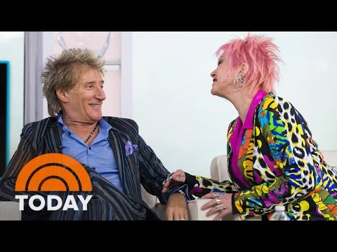 Rod Stewart, Cyndi Lauper Talk Fashion And Upcoming Tour Together | TODAY Mp3