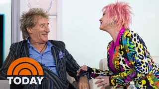 Rod Stewart, Cyndi Lauper Talk Fashion And Upcoming Tour Together | TODAY