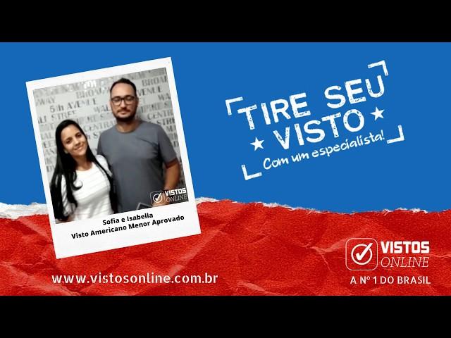 VISTO AMERICANO APROVADO | CÁSSIO E JORDANA