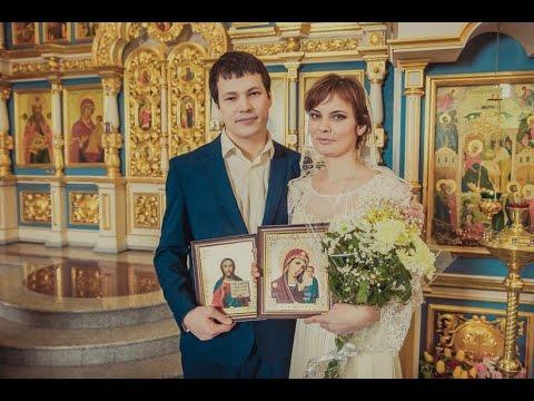 Венчание в церкви...