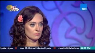 قمر 14 - الفنانة إنجي أبو زيد تكشف عن أسرار جمالها والمحافظة على وزنها وبداية مشوارها الفني