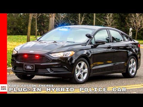Ford Fusion Energi Plug-in Hybrid Police Car