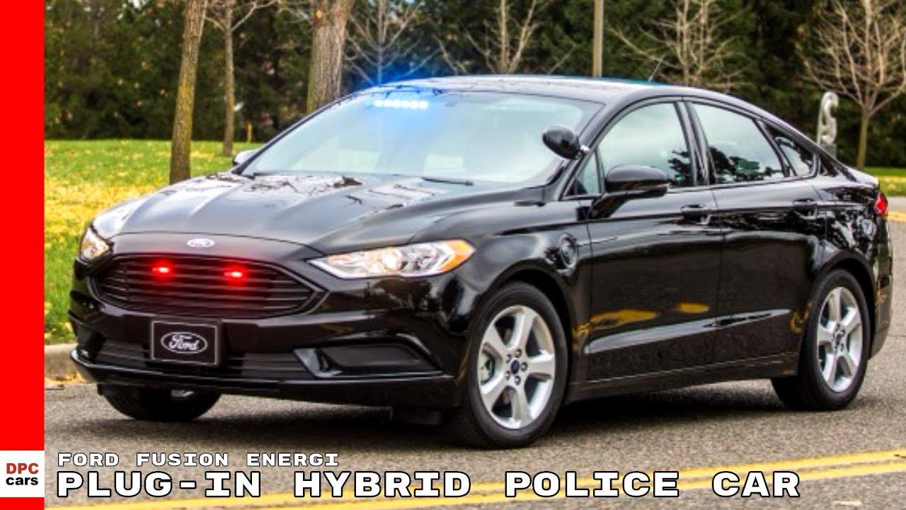 Ford Fusion Energi Plug In Hybrid Police Car