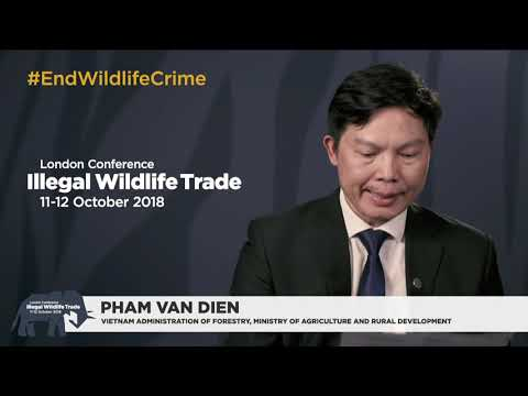 Illegal Wildlife Trade conference London 2018 Day 2: Closing session