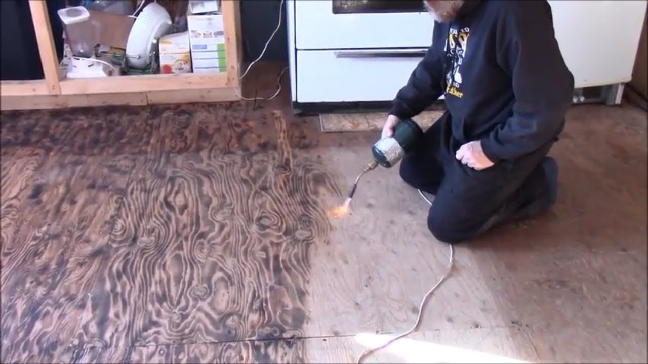 Burnt Wood Flooring Gurus Floor