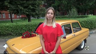 Девушка на Запорожце, ЗАЗ-968М, 1984г., СДЕЛАНО В СССР!