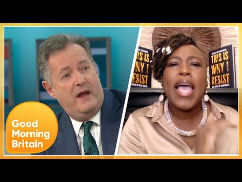 'Liar & a Disgrace' Heated Debate Between Piers & Shola Over Meghan Markle's Oprah Interview | GMB