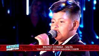 """Bruno Correa hizo vibrar al público con """"Cielito lindo"""""""