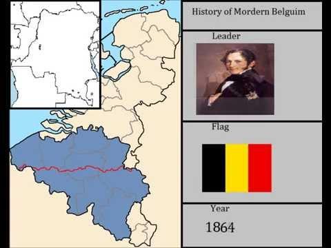 History of Mordern Belguim