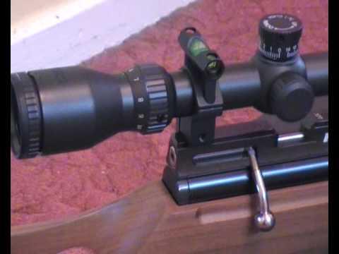 air rifle scope spirit level