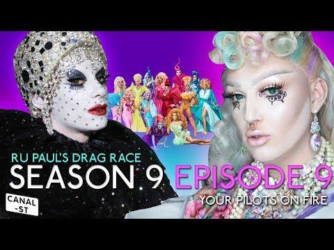RuPaul's Drag Race Season 9 Episode 9 - Escandaloso! The Rumours Came True - Ruview Show