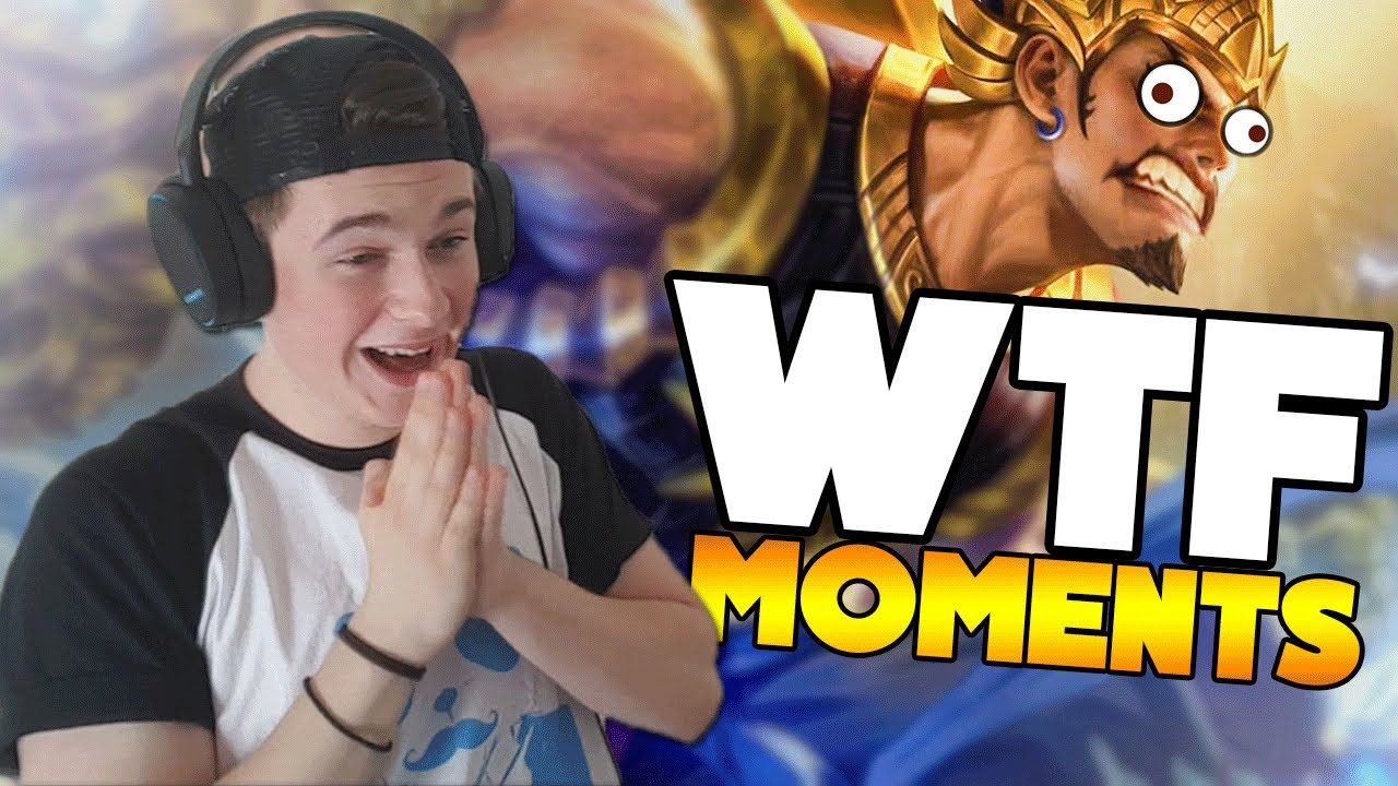 Reacting To Mobile Legends WTF Moments BlueWednesDay