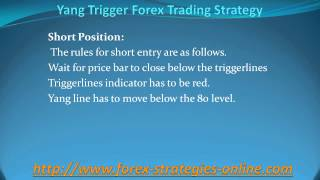 Yang Trigger Forex Trading Strategy