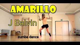 J Balvin - AMARILLO (zumba dance)