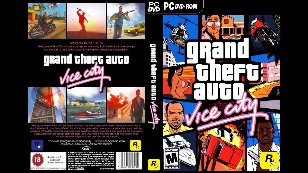 تحميل لعبة درايفر Gta Vice City النسخه الاصليه الخاصه بل مهمات شرح