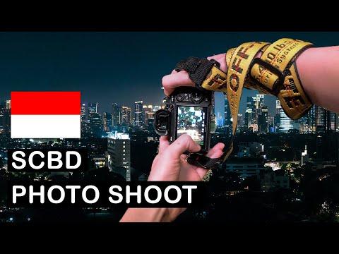 SCBD Jakarta Night Street Photography (POV)