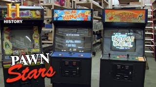 Pawn Stars: 1980s Japanese Arcade Games (Season 4)   History