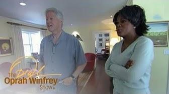 Tour the Clintons' Chappaqua, New York, Home | The Oprah Winfrey Show | Oprah Winfrey Network