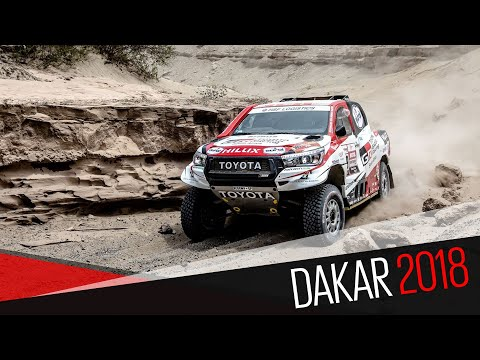 Dakar 2018 Stage 12 Video News Release English and Afrikaans
