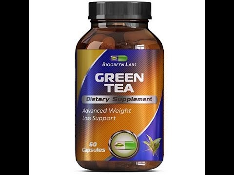eight Loss Supplement with Green Tea + EGCg With Polyphenols and Antioxidants - Boosts Metabolism