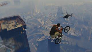 """""""GEEN ZWAARTEKRACHT BMX STUNTS!"""" (Grand Theft Auto 5)"""