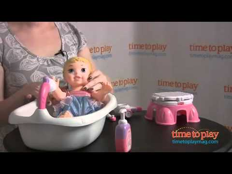 Fisher-Price Little Mommy Bath And Training Set From Tollytots