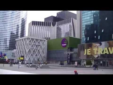 """PARÍS : """"La Défense"""" . Francia. Excursiones y paseos 2016. HD"""