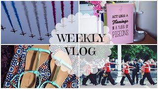 Weekly Vlog: Shopping & The Queen