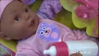 Baby Doll Bottle Feeding Baby