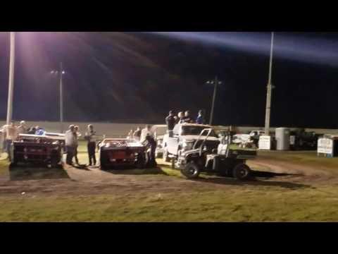 Dustin Virkus @ Madison Speedway- Feature 7.8.17, Part 2