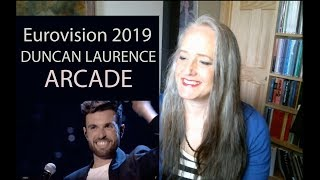 Voice Teacher Reacts to Duncan Laurence - Arcade - Eurovision 2019