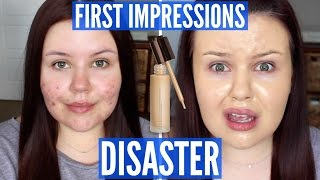 One of SariReanna's most viewed videos: THE WORST FOUNDATION I'VE TRIED | First Impressions FAIL