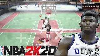USED MY ZION WILLIAMSON BUILD DURING DUNK FEST IN NBA 2K20 - GOT THE BEST DUNK ANIMATIONS IN 2K20
