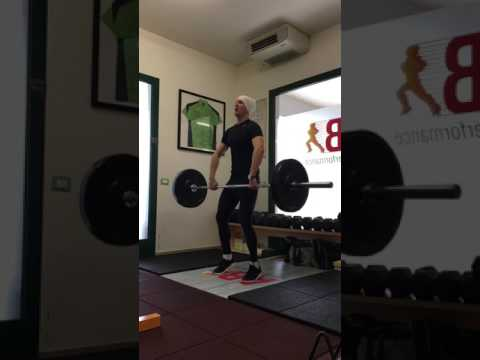 Clean & Press Slow Motion at AB Sport Performance