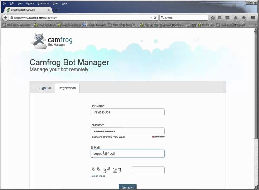 Camfrog bot - YouTube